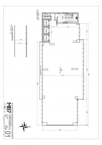 Maringa Novo Centro comercial Locacao R$ 9.000,00 Condominio R$1.200,00 Area construida 305.00m2